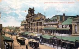Australia - Brisbane - Queen Street From Town Hall - Petit Pli - Brisbane