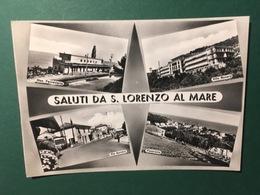 Cartolina Saluti Da S. Lorenzo AL Mare - Panorama - Via Aurelia - 1960 - Forli