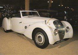 Peugeot 402 Cabriolet 'Darl'Mat'   - 1937  -  Carte Postale - Voitures De Tourisme