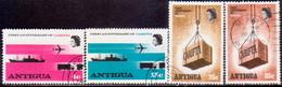 ANTIGUA 1969 SG #230-33 Compl.set Used CARIFTA - Antigua & Barbuda (...-1981)