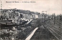 Souvenir De Namur - Le Fanbourg D' Herbatte Et La Gare - Namur