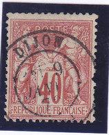 France, Sage Type 1 ,  N°70, Oblitération Dijon,  ( 1901/030) - 1876-1878 Sage (Type I)
