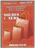 Catalogue N°35 Dan-Toys Modèles Réduits De 2009 - Catalogues & Prospectus