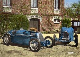 B.N.C. 1100cm A Compression (1927) - Bugatti Grand Prix (1929)    -  Carte Postale - Voitures De Tourisme