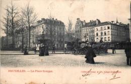 Bruxelles - La Place Rouppe - Places, Squares