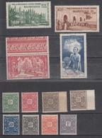France Mauritanie(1914 Et 1942) Y/T Taxes Série N° 17/24 Neufs* + PA 6/8 Et 9 Neufs** à 10% De La Cote! - Mauritanie (1906-1944)