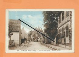 CPA - Ivoy Le Pre -(Cher) - La Grande Rue - Partie Basse - France