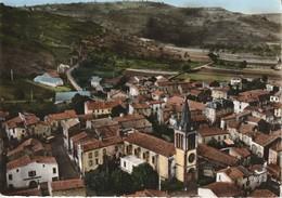 63 - TRES BELLE CARTE POSTALE SEMI MODERNE DENTELEE  DE  BLANZAT  VUE AERIENNE - Andere Gemeenten