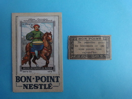 2 BONS-POINTS Pour écolier  Sronenvides Années1940/50 - Autres Collections