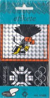 Self Label Sticker VUCKO Souvenire Winter Olympic Games Sarajevo 1984 84 Bosnia Yugoslavia Prod.Aero Celje Slovenia - Apparel, Souvenirs & Other