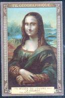 Le Fil Geographique, Musee Du Louvre, La Joconde, Leonard De Vinci - Otros