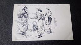 """LES FEMMES : Marche Des Midinettes, Du 25 Octobre 1903, Organisée Par Le Monde Sportif, Par Méria """"avant L'entrainement"""" - Künstlerkarten"""