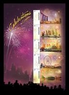 Singapore 2019 Mih. 2585/89 Fireworks MNH ** - Singapore (1959-...)