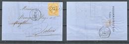 TIMBRE - FRANCE - Marcophilie -1864 - Voir Photo - Storia Postale