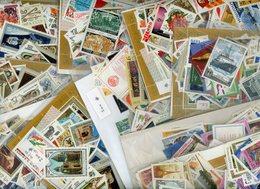 A ETUDIER + DE 2000 TIMBRES URSS    POIDS 450 GRAMMES AVANT EMBALLAGE EN TENIR COMPTE POUR LE PORT - Lots & Kiloware (mixtures) - Min. 1000 Stamps