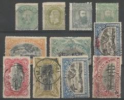 CONGO 1 Obl, 4, 6, 10, 20, 21, 25, ... - Belgisch-Kongo