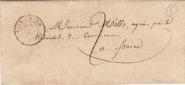 LETTRE PUY-DE-DOME. 1848.  T15 St GERMAIN L'HERM POUR ST ISSOIRE. TAXE PLUME 3 - 1801-1848: Vorläufer XIX