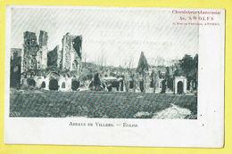 * Villers La Ville (Waals Brabant - Wallonie) * (VED 239 - Chocolaterie Ad. Swolfs) Abbaye De Villers, Ruines, église - Villers-la-Ville