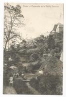Thuin Passerelle De La Vieille Tannerie Carte Postale Ancienne - Thuin