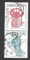 Schweden, 1984, Michel-Nr. 1282+1285, Gestempelt - Gebraucht