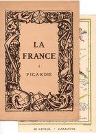 Carte Topographique De La Picardie - La France N°2 Par Les Laboratoires Marinier - Cartes Topographiques