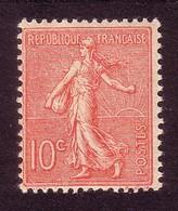 Type Semeuse Lignée De Roty - 1903 - 10c Rose - YT N° 129** - France