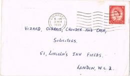 31504. Carta GUERNSEY (Channel Islands)  1955. English Stamp - Guernsey