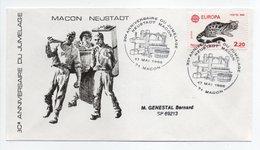- FDC 30e ANNIVERSAIRE DU JUMELAGE MACON / NEUSTADT 17.5.1986 - - Emissions Communes