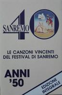 MC MUSICASSETTA Various – Sanremo 40 - Le Canzoni Vincenti Del Festival Di Sanremo (Anni '50)  - Etichetta J.P. 301 - Cassette