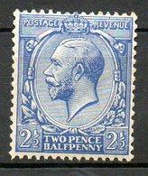 GRANDE BRETAGNE - 1912-22 - N° 143 - 2 1/2 D. Bleu - (George V) - 1902-1951 (Könige)