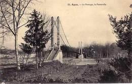 47 -  AGEN - Le Passage,la Passerelle  - - Agen