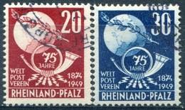 Rhéno-Palatin - Y&T  N° 50-51 (o) - Französische Zone