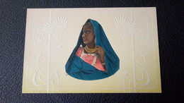 Egypte - Belle Femme Voilée Style Art Nouveau / Carte Gaufrée Editions Plentl Mary Mill Graz-Cairo - Nr 390 - Egypte