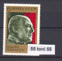 1973 Picasso Mi-4199  1v.-MNH USSR - Picasso