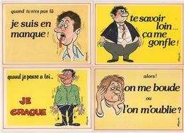 19 Cartes Postales > 18 HUMOUR Alexandre & 1 Gadget Post Cards - 5 - 99 Cartes