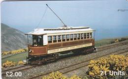 Isle Of Man, MAN 088, Tram No.1, 2 Scans . - Isla De Man