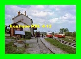 AL 351 - Autorail Verney X 244, Billard X 244 Et Locotracteur BA 13 En Gare - ECUEILLE - Indre 36 - BA - France