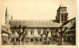 CPA - FONTEVRAULT - ABBAYE - LE CLOITRE ET LA CHAPELLE (IMPECCABLE) - Other Municipalities