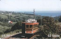 Isle Of Man, MAN 090, Trams, Car No.3, 2 Scans .   Mint ? - Isla De Man