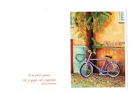 Petit Calendrier 2019 - Dessin Vélo Bicyclette - Artistes Peignant De La Bouche Ou Du Pied MOLSHEIM - Carpe Diem Berlin - Tamaño Pequeño : 2001-...