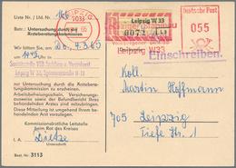 Nachlässe: BRIEFE-NACHLASS - Sehr Ergiebiger Und Gehaltvoller Bestand Briefe, Karten Und Ganzsachen - Timbres