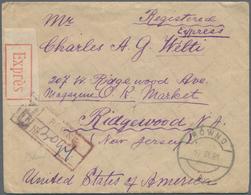 Nachlässe: BRIEFE-NACHLASS ALLE WELT - Vielseitige Partie Im Karton, Dabei Etliche Markenlose Briefe - Timbres