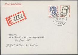Nachlässe: BUND/BERLIN-PARTIE 1949/1989, Saubere Sammlungspartie In Zwei Alben, Dabei Bund Wohlfahrt - Timbres