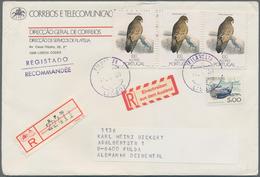 Nachlässe: LAUERTAL-NACHLASS: Bestand An Briefen Und Karten, Vor Und Nach 1945, In 2 Kartons Mit Rd. - Briefmarken