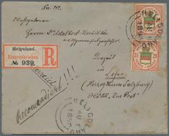Nachlässe: Continental, Uriger Nachlass In 13 Kartons, Dabei über Mehrere Generationen Gewachsene Sa - Briefmarken