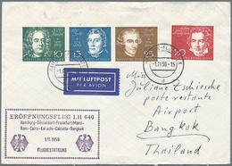 Nachlässe: BRIEFE DEUTSCHLAND - Schachtel Mit Einigen Hundert Briefen Und Karten Ab Klassik (Thurn&T - Timbres