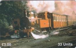 Isle Of Man, MAN 091, Engine No. 4 - The Loch, 2 Scans .   Mint ? - Man (Eiland)