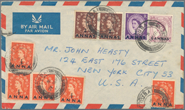 Dubai: 1954/90, Covers QEII (3), Independent State (8), FDC (4, 1963/64 Inc. Space And Kennedy), Sta - Dubai