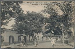 Französisch-Westafrika: 1904/1908, Senegal-Soudan, Lot Of 42 Different Ppc Depicting Native People, - A.O.F. (1934-1959)