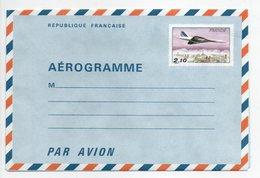 - AÉROGRAMME N° 1006-AER Neuf - 2 F. 10 Avion Concorde Survolant Paris - - Entiers Postaux